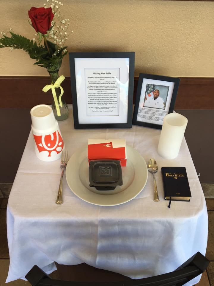 Chick-Fil-A honors fallen officer