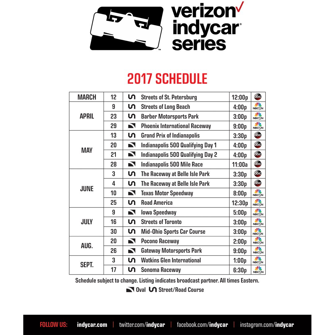 IndyCar Series on Twitter:
