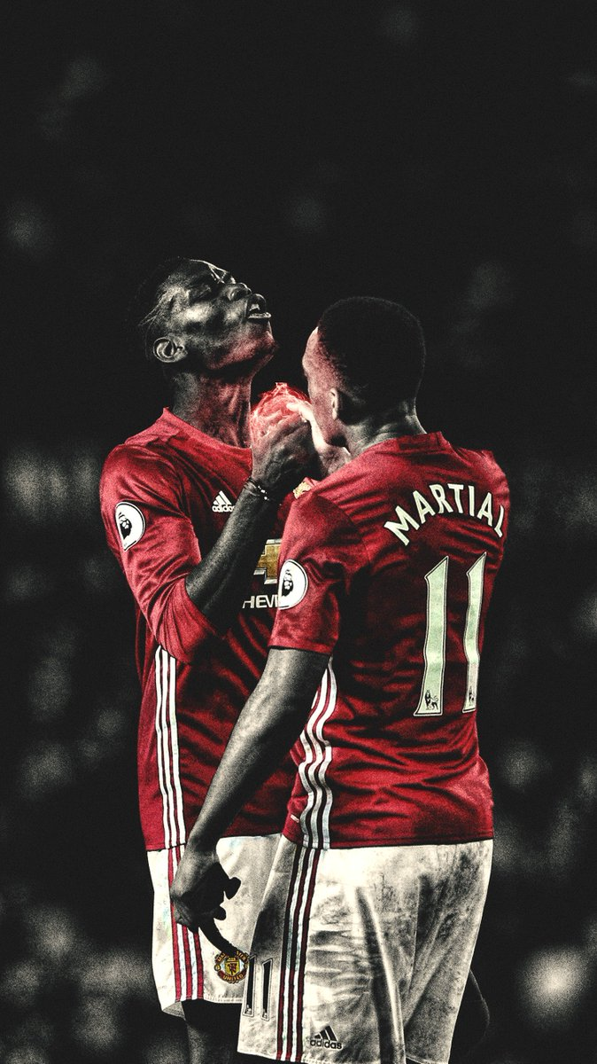 Mufc Iphone Wallpaper Footy Wallpapers On Twitter Quot Paul Pogba Amp Anthony Martial