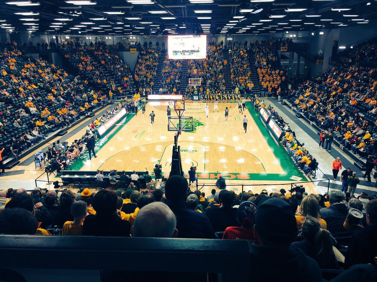 """NDSU Athletics on Twitter: """"Busy week with the Bison at Scheels Center! WBB  - 1/4, 1/7 MBB - 1/5 Wrestling - 1/6, 1/8 https://t.co/1dHtuGe3b9… """""""