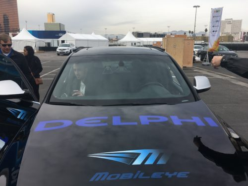 Mobileye and Delphi show off driverless car tech at CES 2017   #Tech #News #IoT #CES2017