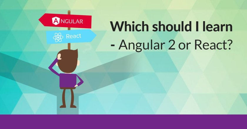 Which should I learn – #Angular 2 or #React ?  #reactjs #php