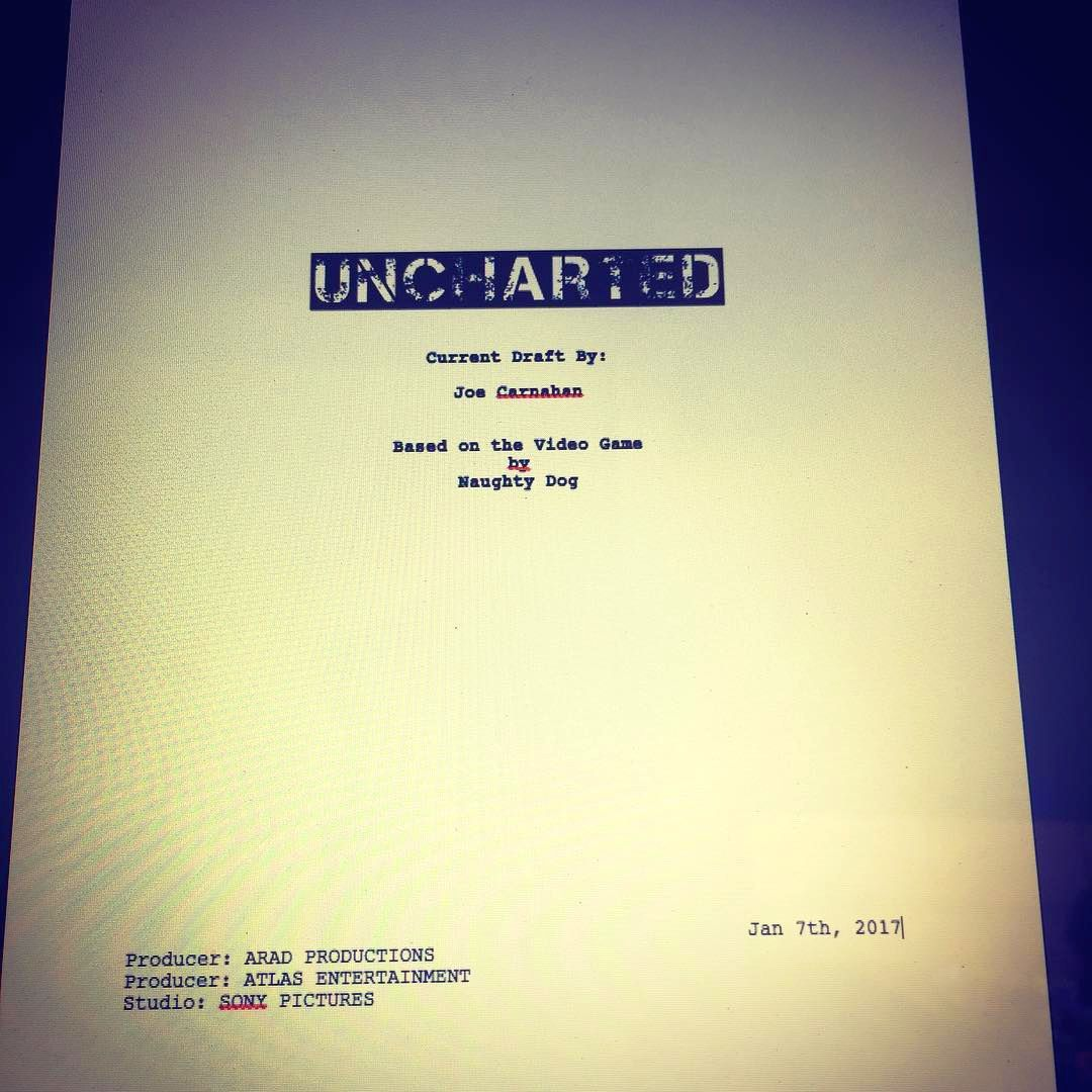Uncharted Movie Script Has Been Drafted