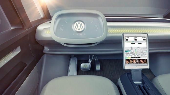 La nueva combi de Volkswagen.