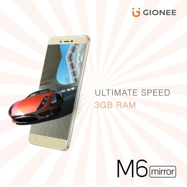 gionee m6 mirror price
