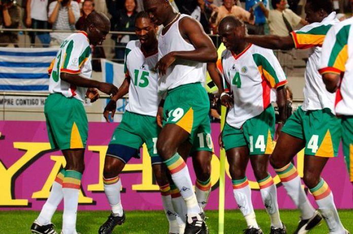 Image result for senegal world cup 2002