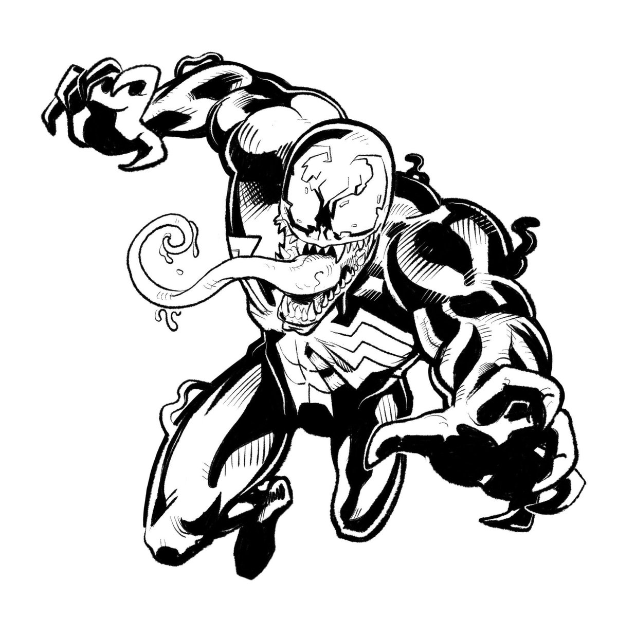Anti Venom Spiderman