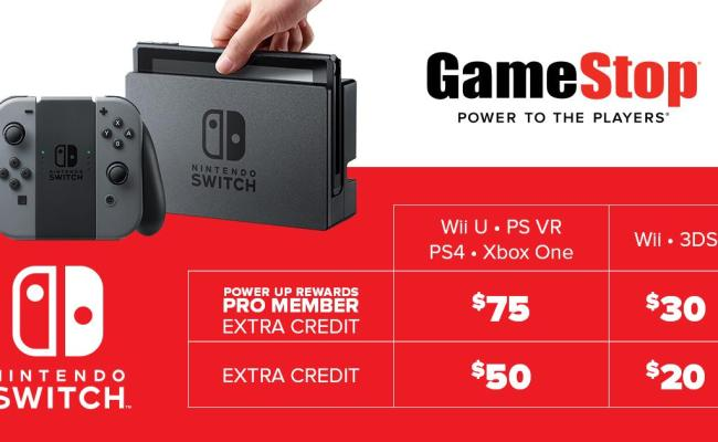Gamestop On Twitter Trade In A Ps4 Xb1 Wii U Or Psvr