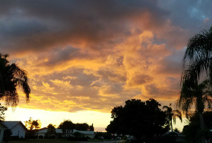 #Tampa #weather forecast: Small chance of passing showers overnight  @KJones821
