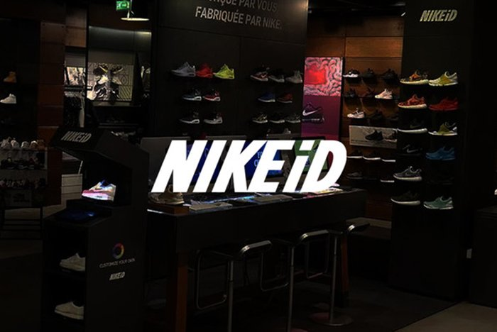 NIKEiD's newest machine customises sneakers using augmented reality