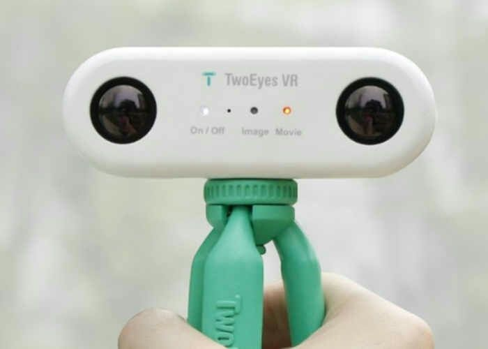 TwoEyes Virtual Reality 360 Camera Hits #Kickstarter (video) - Geeky Gadgets  #vr