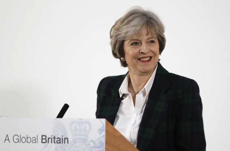 Britain's Prime Minister May signals clean break with EU: No partial membership