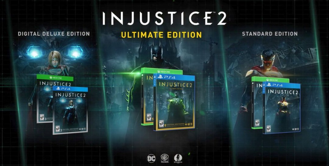 Injustice 2 Special Editions And Pre-Order Bonus Announced 4