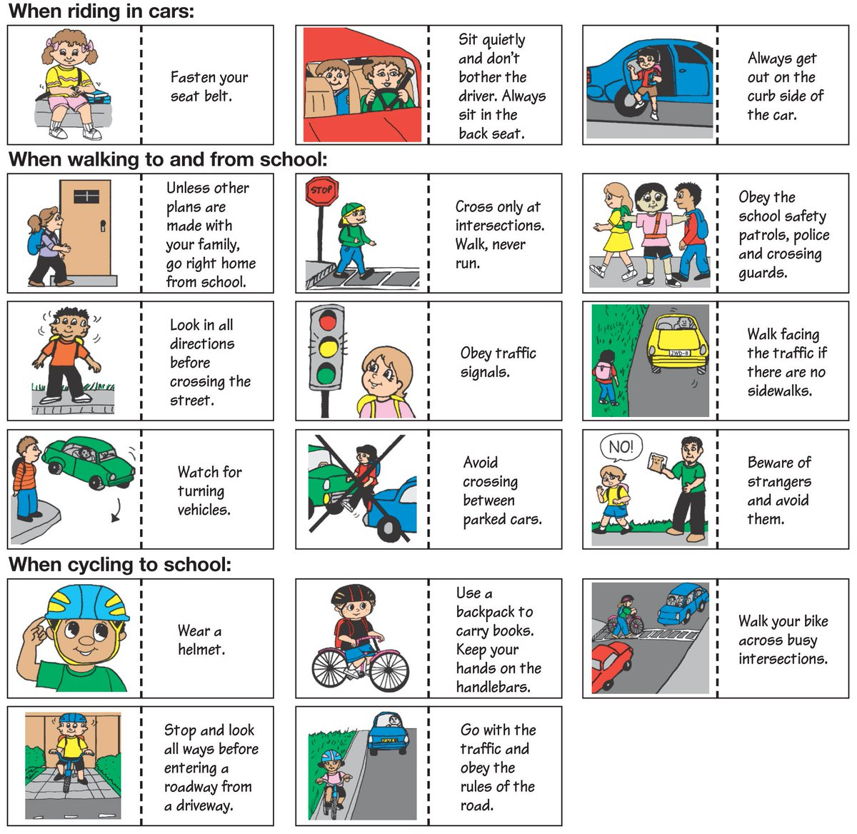 Safe Kids Nigeria On Twitter Beroadsmart Road Safety Knowledge Can Save Lives Teach Your