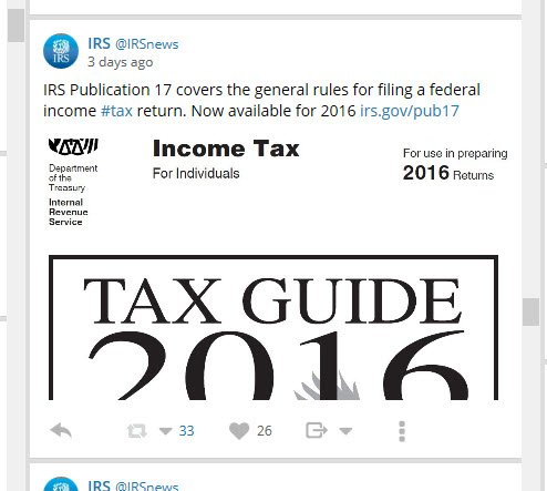 Irs publication 17 covers the general rules for filing a