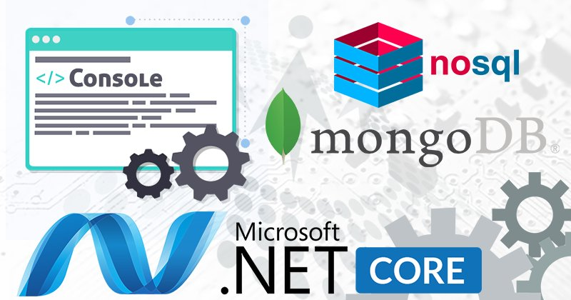 Creating .NET Core #ConsoleApp W/ #NoSQL- #MongoDB At Back-end by @itgyanvriksh  #dotnetcore