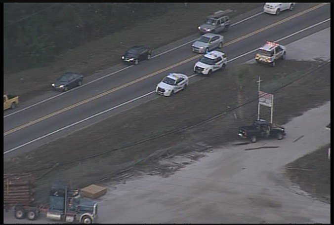 TRAFFIC: SR 52 closed near US 41 due to a fatal crash involving a logging truck.