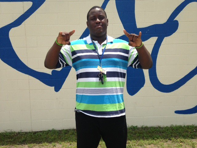 ,@jboysfootball OL Jean Marcellus wants to be the big man on his home campus