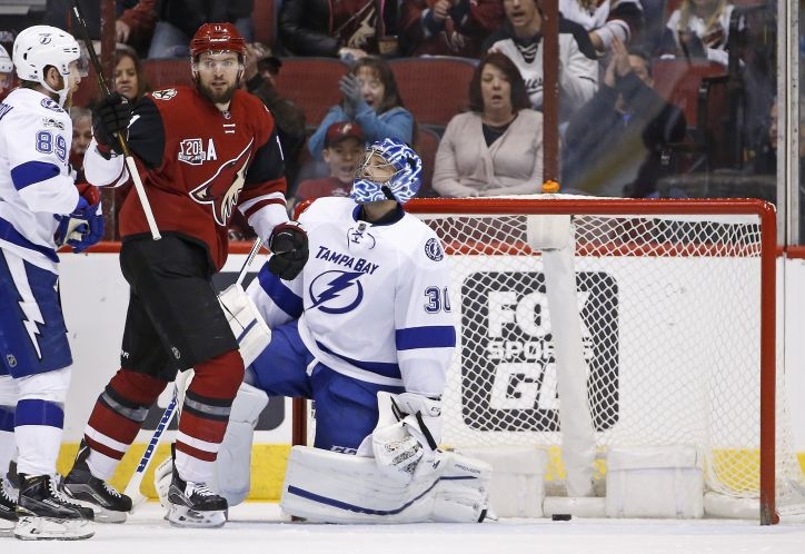 Lightning falls to Coyotes (w/ video)