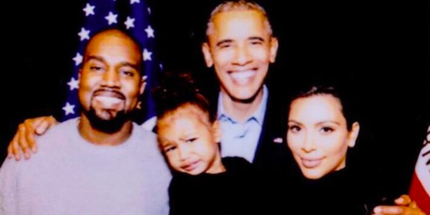Kim K says goodbye to Obama with family photo and now we're crying as much as North