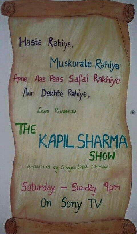 Kapil Sharma Show Apne Tv : kapil, sharma, Sagar, Pyati, (@SagarCPyati1), Twitter