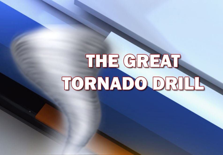 Duck and Cover 🌪 There will be a statewide tornado drill this morning at 10AM. More info: