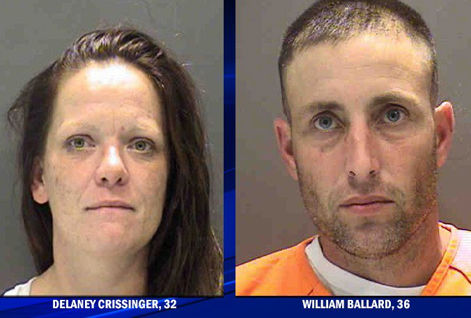 Deputies: Manatee County couple overdoses with infants in backseat of SUV