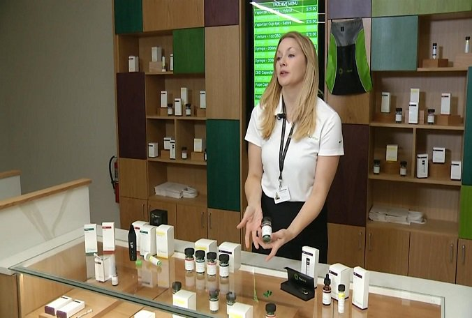 Today in Tampa, a medical marijuana dispensary will open for business.