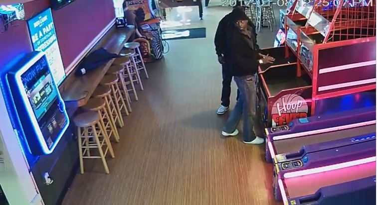 Two men sought after stealing more than $1K from arcade cabinets at Dunedin bar: