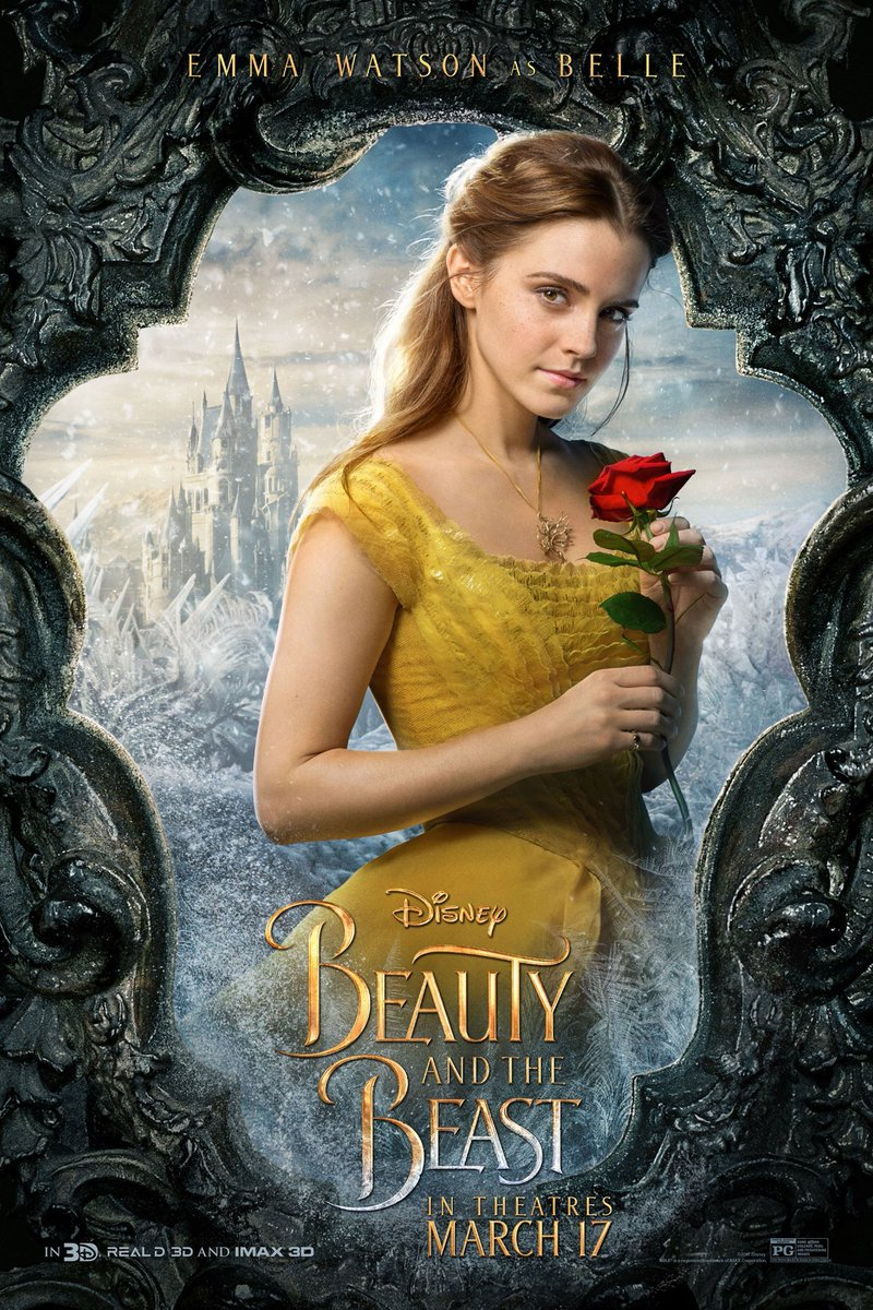 Beauty and the Beast Character Posters Revealed