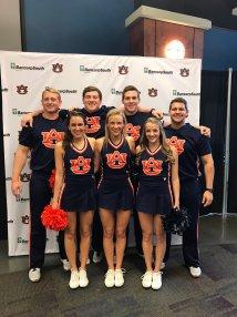 Auburn Basketball Cheerleaders