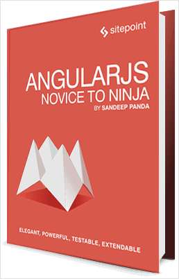 eBook: AngularJS Novice to Ninja for FREE -
