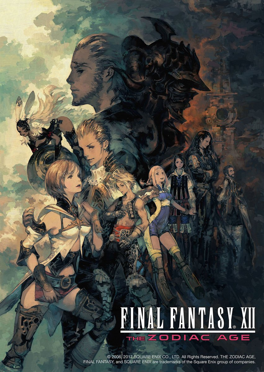 Final Fantasy XII: The Zodiac Age Launches In July 2017