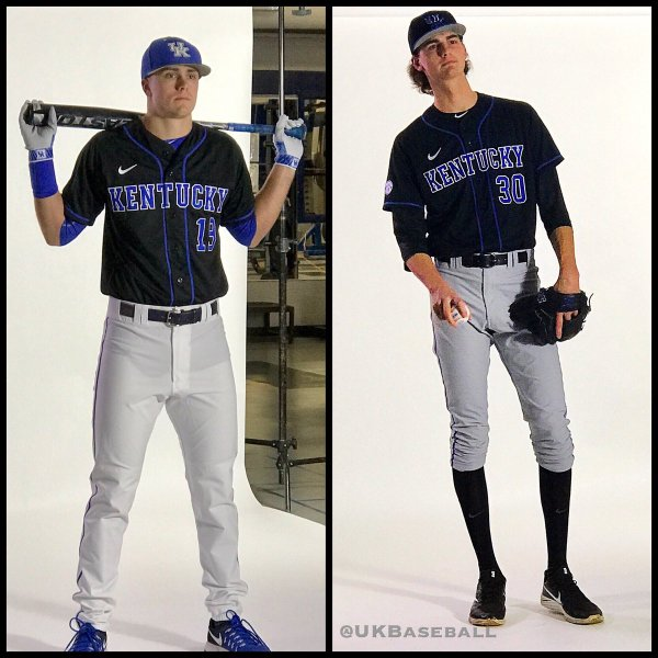 Kentucky Baseball Uniform Black