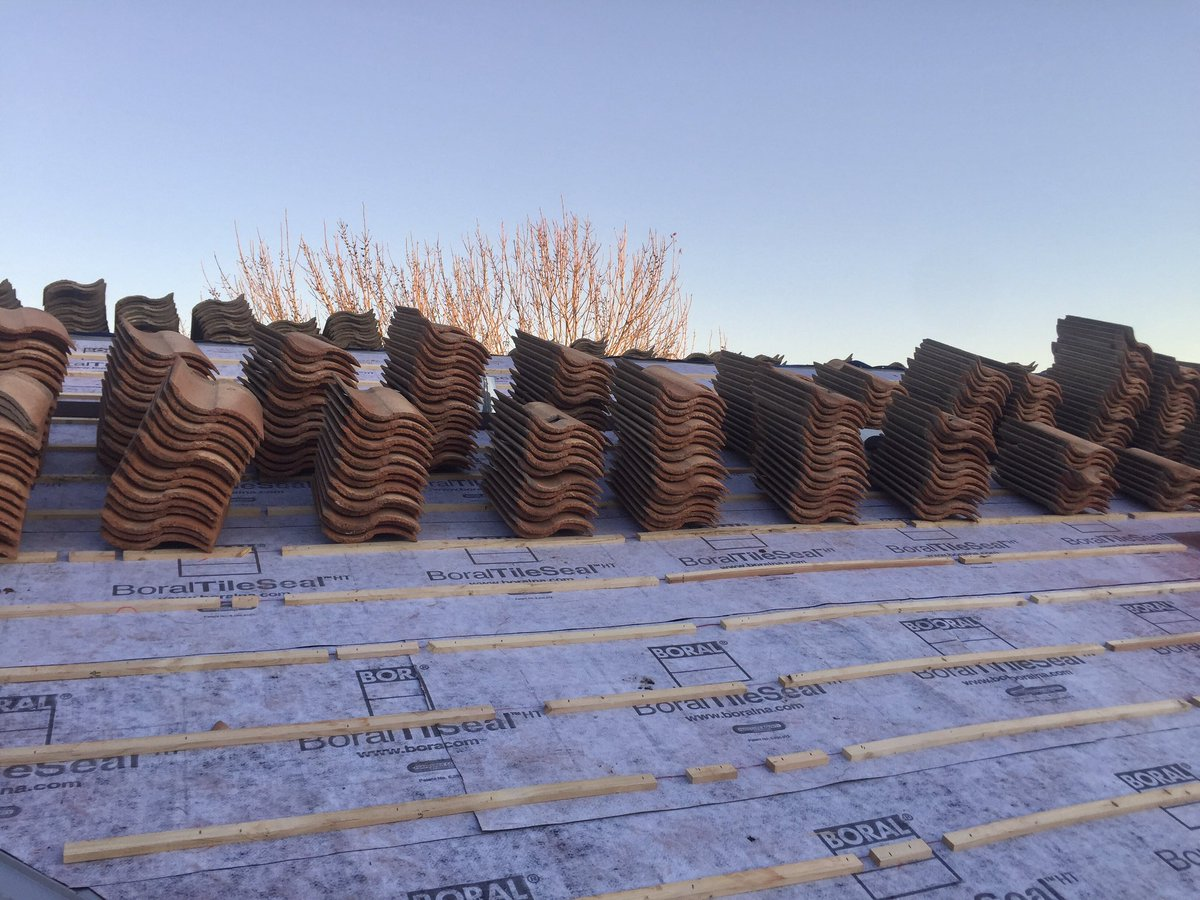 bor roofing lr solutions on twitter progress pictures of tile roof