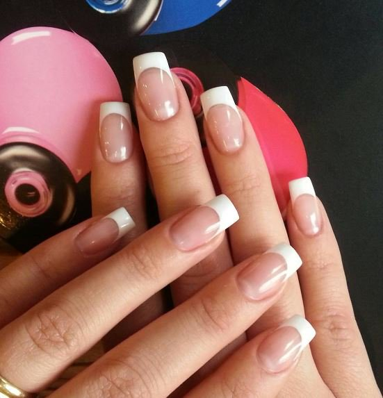 Artistic Nail Design On Twitter Beautiful French Manicure Perfectdip Also Artisticnailnl Nailscafeehv Perfect Dip Nagels Nailstudio