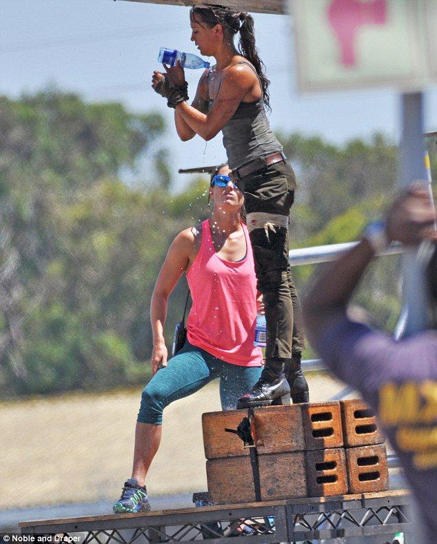 Tomb Raider Set Photos