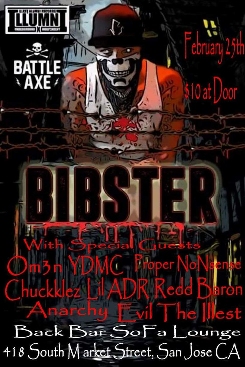 back bar sofa san jose ca lounge sleeper chuckklez on twitter in a couple more weeks i ll be opening up for the twisted homie bibster here at backbar 25th