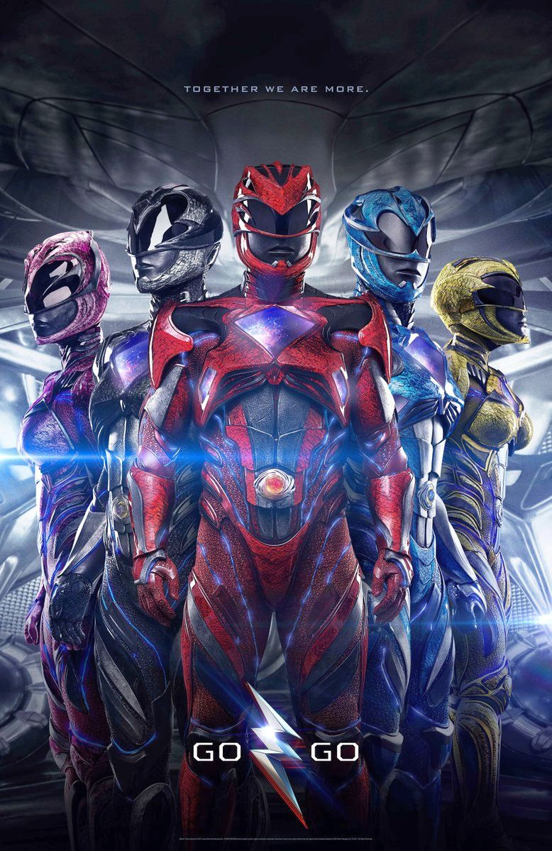 Power Rangers International Poster Revealed