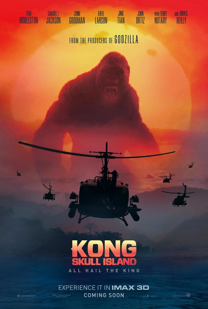 New Kong: Skull Island IMAX Poster Revealed