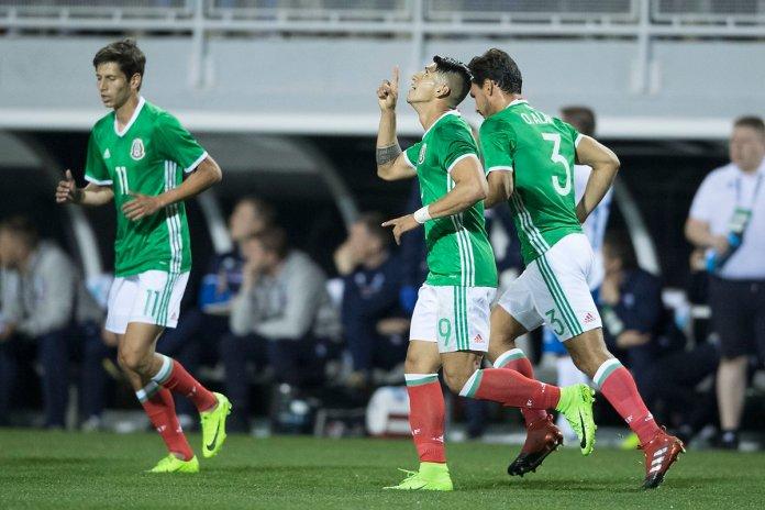 Goles del partido México vs Islandia.