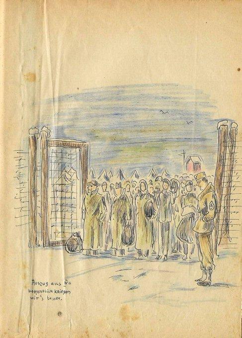 Memotret Sejarah Kala Perang Dunia II via Sketsa Goresan