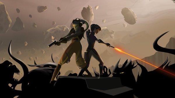 Clone Wars - Rebels Concept Art- Paper Animation