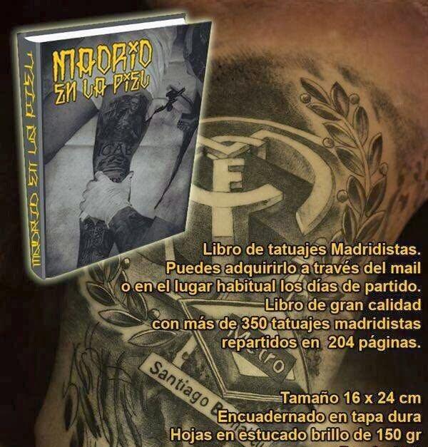 Ultras Sur On Twitter Libro De Tatuajes Madridistas Más De 350