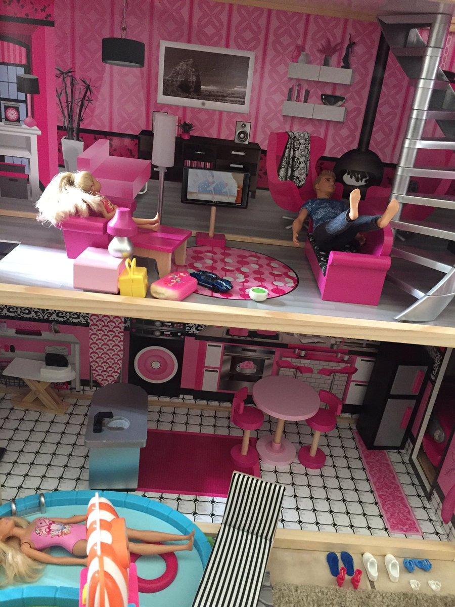 A Barbie House 6