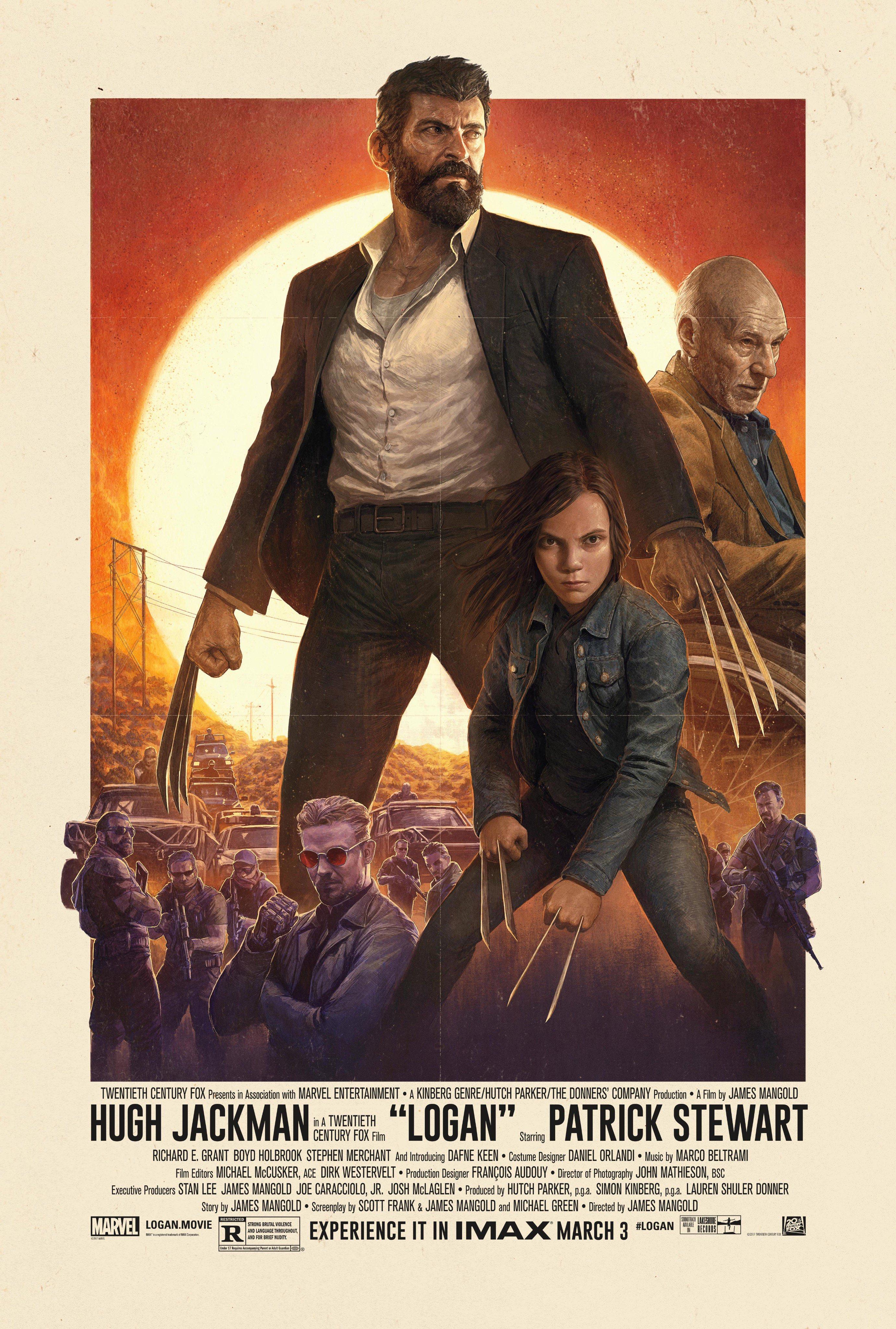 2017 Wolverine Logan Poster