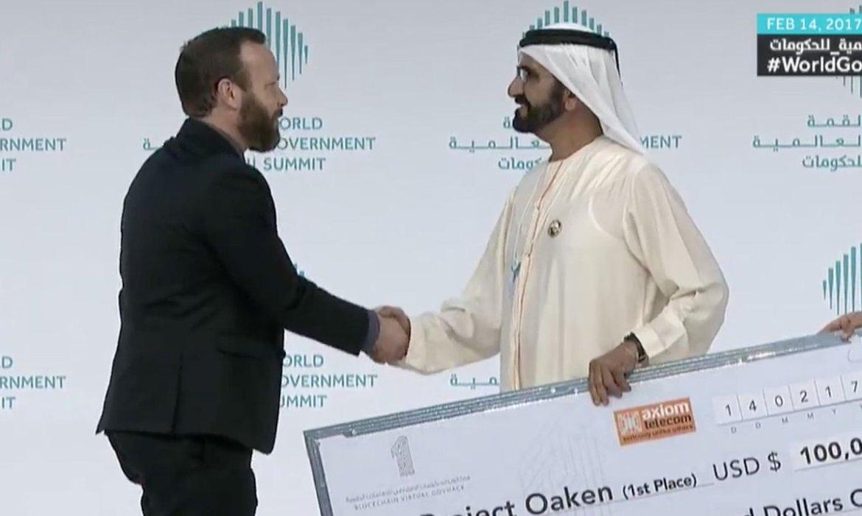 Ethereum IoT Project Wins $100k in Dubai Blockchain Hackathon