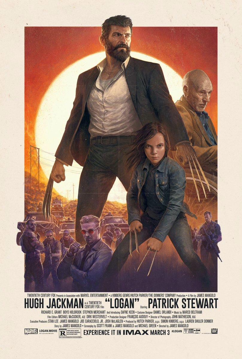 Logan IMAX Poster Revealed