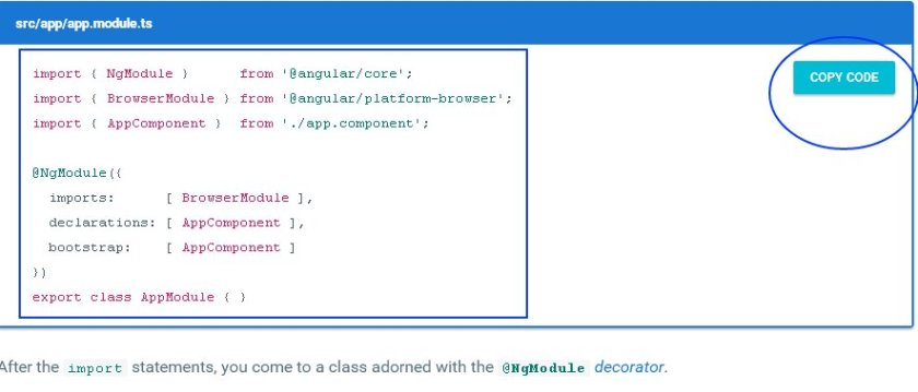 AngularJS AppModule (the Rootmodule)