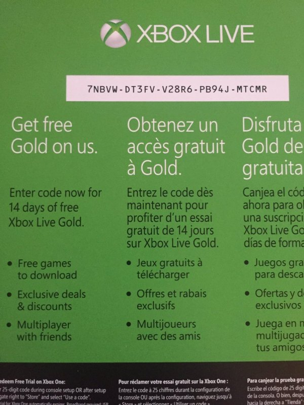 Xbox One Redeem Codes 2019 - Year of Clean Water
